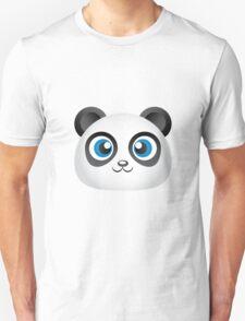 Cute Panda Head T-Shirt