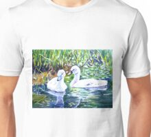 Two Cygnets Unisex T-Shirt