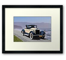 1925 Pierce-Arrow 80 Runabout Framed Print