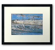 Abstract Seascape, Brighton Framed Print