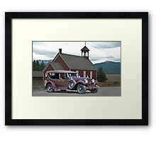 1929 Packard 640 Touring Car Framed Print