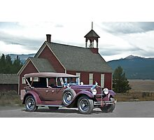 1929 Packard 640 Touring Car Photographic Print