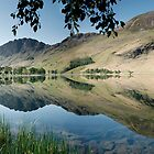 Fleetwith Pike, Haystacks and the High Stile Range, Buttermere by Martin Lawrence