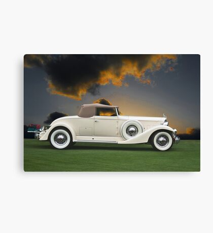 1933 Packard 12 Convertible Canvas Print