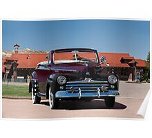 1947 Ford Super Deluxe Convertible Poster