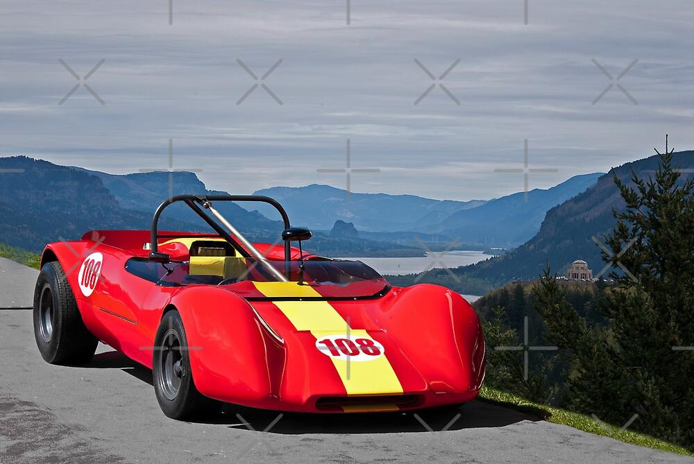 1965 Lotus 23 Vintage Race Car by DaveKoontz