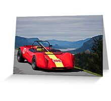 1965 Lotus 23 Vintage Race Car Greeting Card
