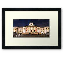 The National Gallery on Trafalgar Square, London Framed Print
