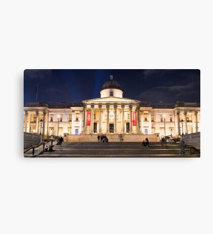 The National Gallery on Trafalgar Square, London Canvas Print