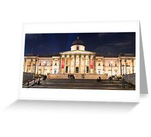 The National Gallery on Trafalgar Square, London Greeting Card