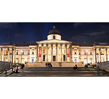The National Gallery on Trafalgar Square, London Photographic Print