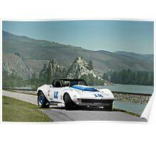 1968 Corvette Trans Am GT Poster