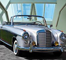1960 Mercedes-Benz 220SE Cabriolet by DaveKoontz