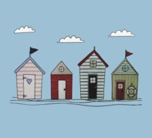 Beach houses Kids Tee