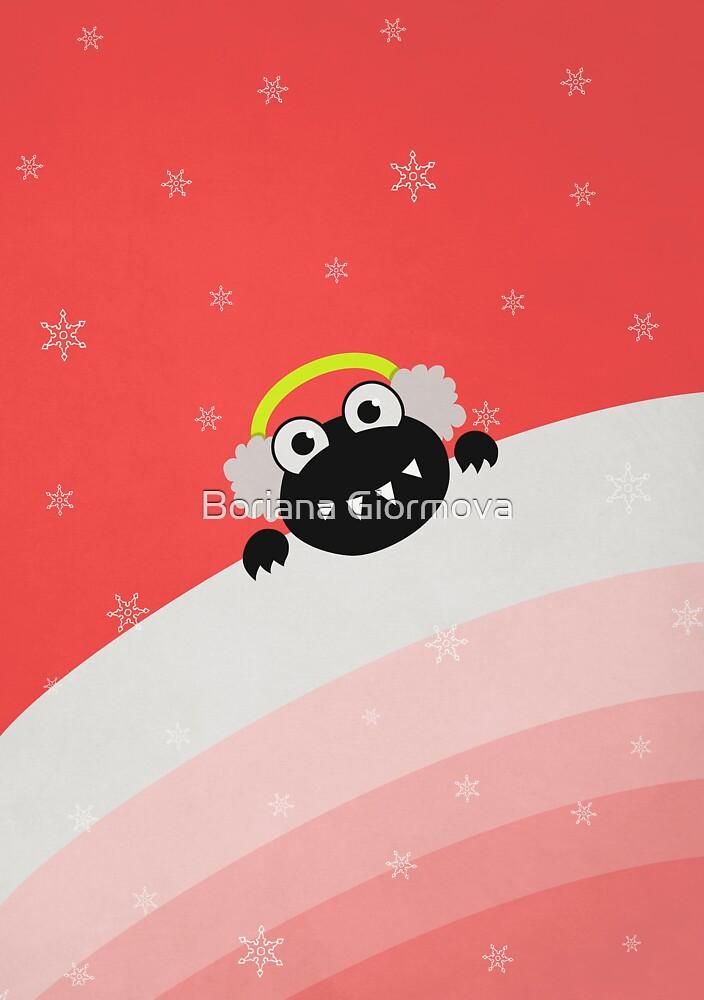 Winter Cute Bug With Earflaps by Boriana Giormova