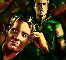 Justin Hartley by FDugourdCaput