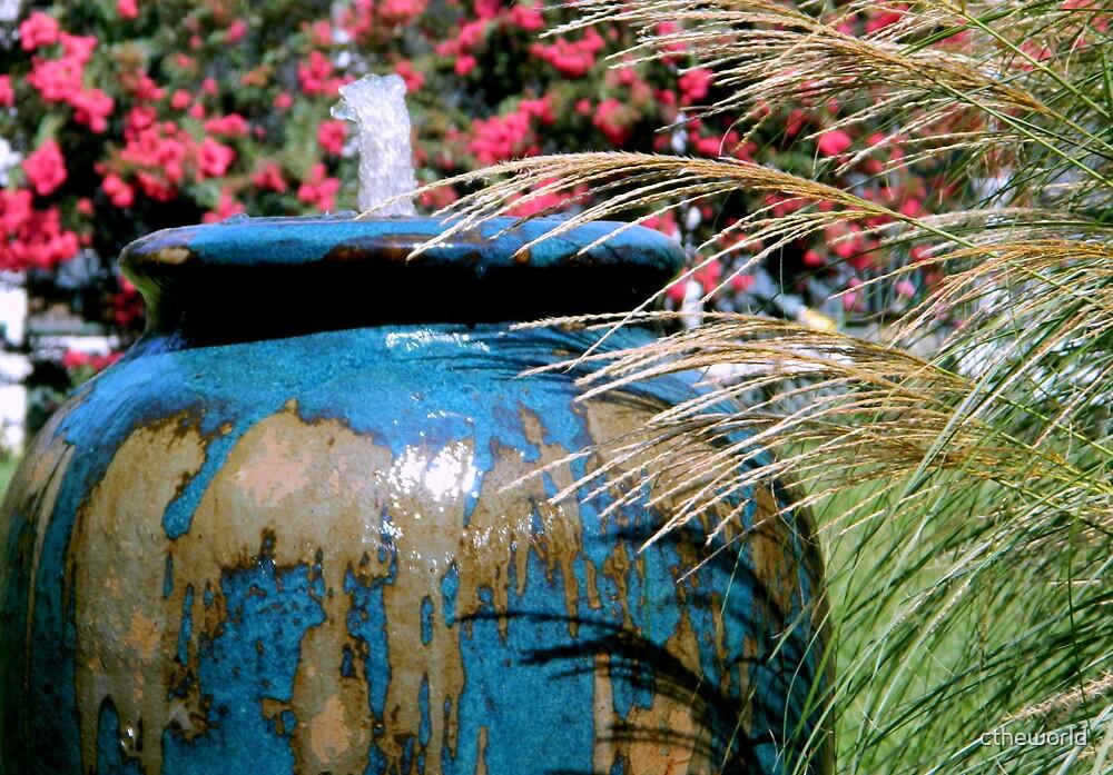 Garden Fountain    ^ by ctheworld