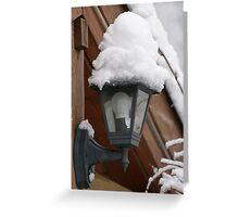 Snow, snow... Greeting Card