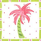 Pink Palm Tree by lemondaisy