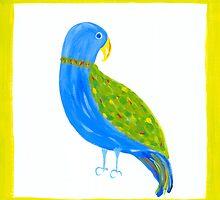 Tropical Parrot by lemondaisy