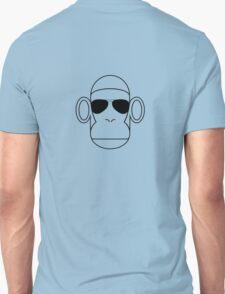 Aviator Monkey B&W T-Shirt