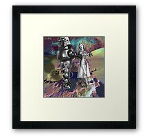 Let Me Show You My Planet Framed Print