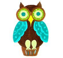 Whimsical Owl by lemondaisy
