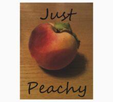 Just Peachy Peach Photo Kids Tee