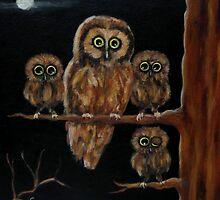 """""""Night owls"""" by Gabriella Nilsson"""