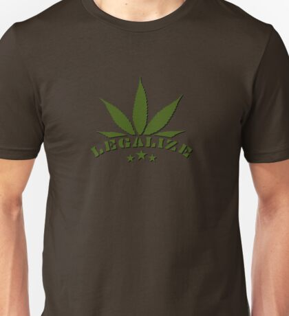 Legalize Weed VRS2 T-Shirt
