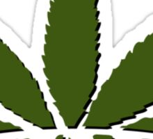 Legalize Weed VRS2 Sticker