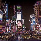 Times Square, New York by Colin Shepherd