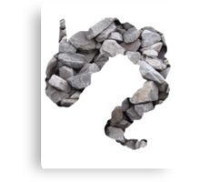 Onix used Rock Throw Canvas Print