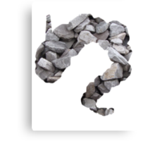 Onix used Rock Throw Canvas Print
