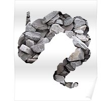 Onix used Rock Throw Poster