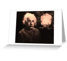 Einstein 2 Greeting Card