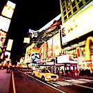 Bright Lights in the Big City - Times Square - NYC by Vivienne Gucwa