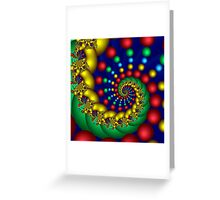 Spiral Extraordinaire Greeting Card