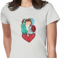 BMO and Catbug Womens Fitted T-Shirt