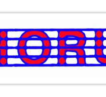 Chorus Red White & Blue II Sticker