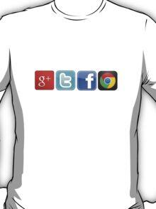 GTFO, out of Logos T-Shirt