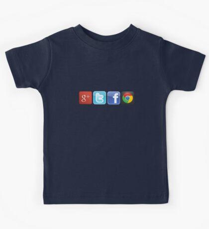 GTFO, out of Logos Kids Tee