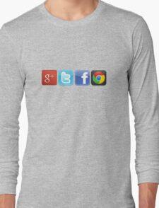 GTFO, out of Logos Long Sleeve T-Shirt