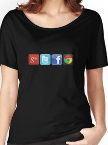 GTFO, out of Logos Women's Relaxed Fit T-Shirt