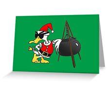 Santa Duck - Duck Logic Christmas Greeting Card