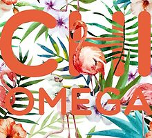 Chi Omega tropical by gshort