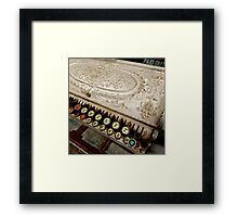 paid out Framed Print
