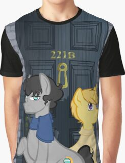 The Adventures of Sherlock Hooves: 221B Graphic T-Shirt