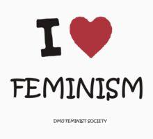 DMU - I ♥ Feminism  Kids Clothes