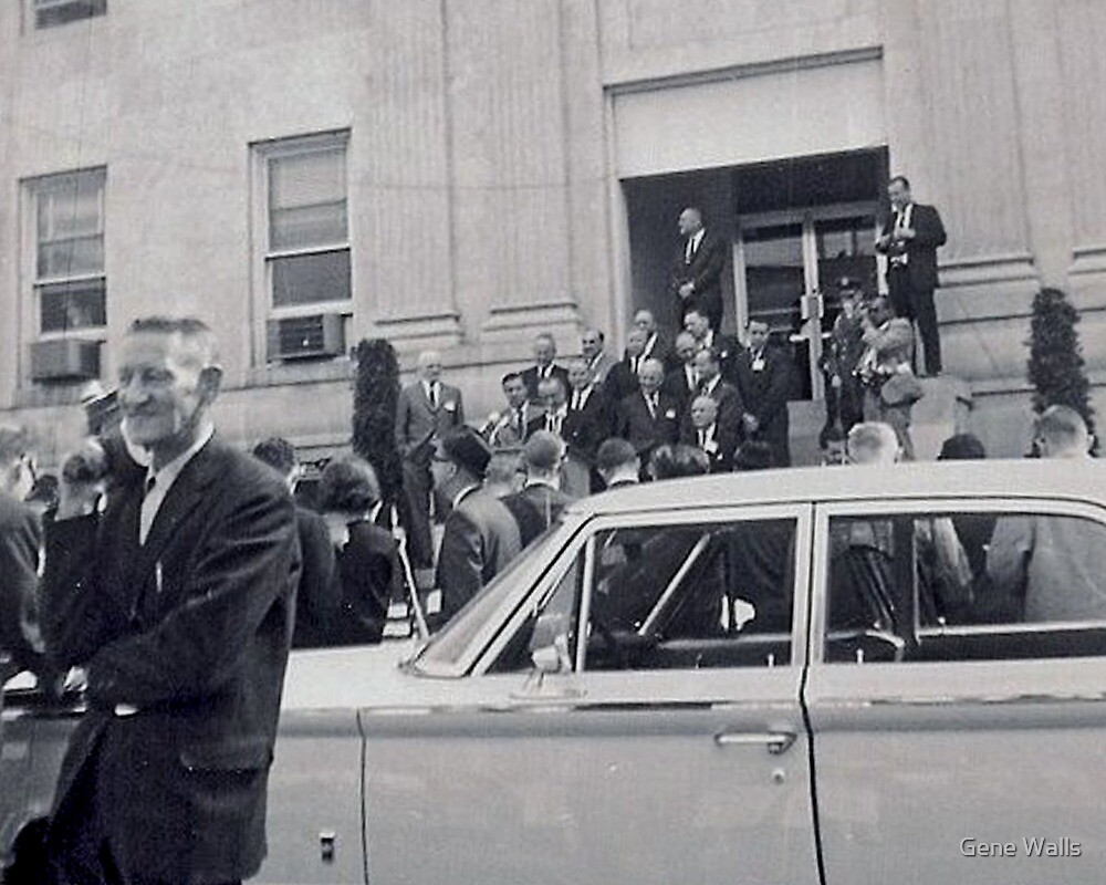 LBJ Declairs WAR ON POVERTY In 1964 by Gene Walls